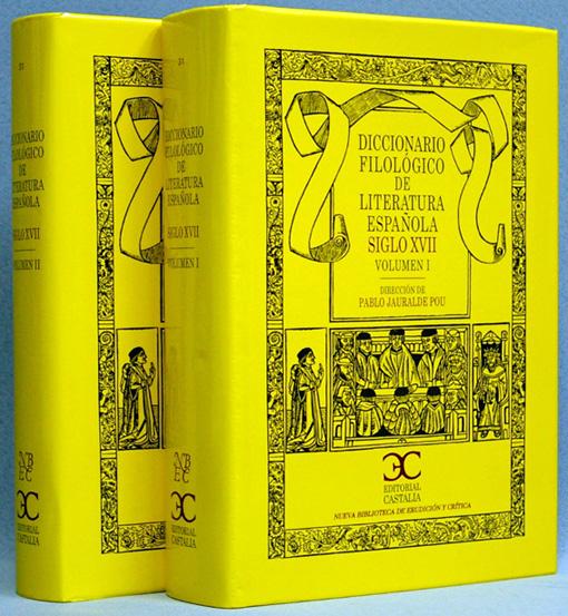 17世紀スペイン文学文献学事典